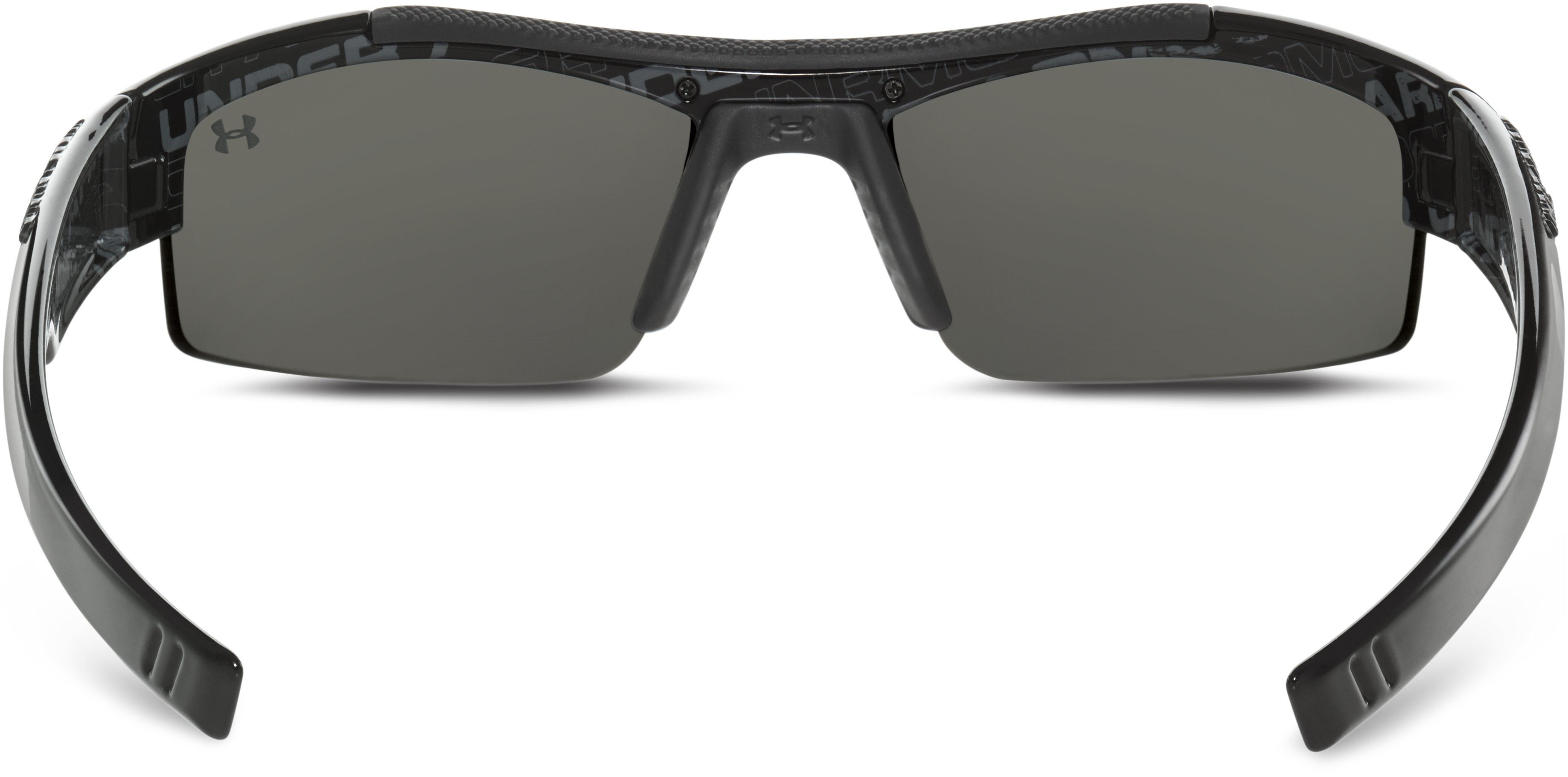 Kids' UA Nitro Sunglasses, Shiny Black, undefined