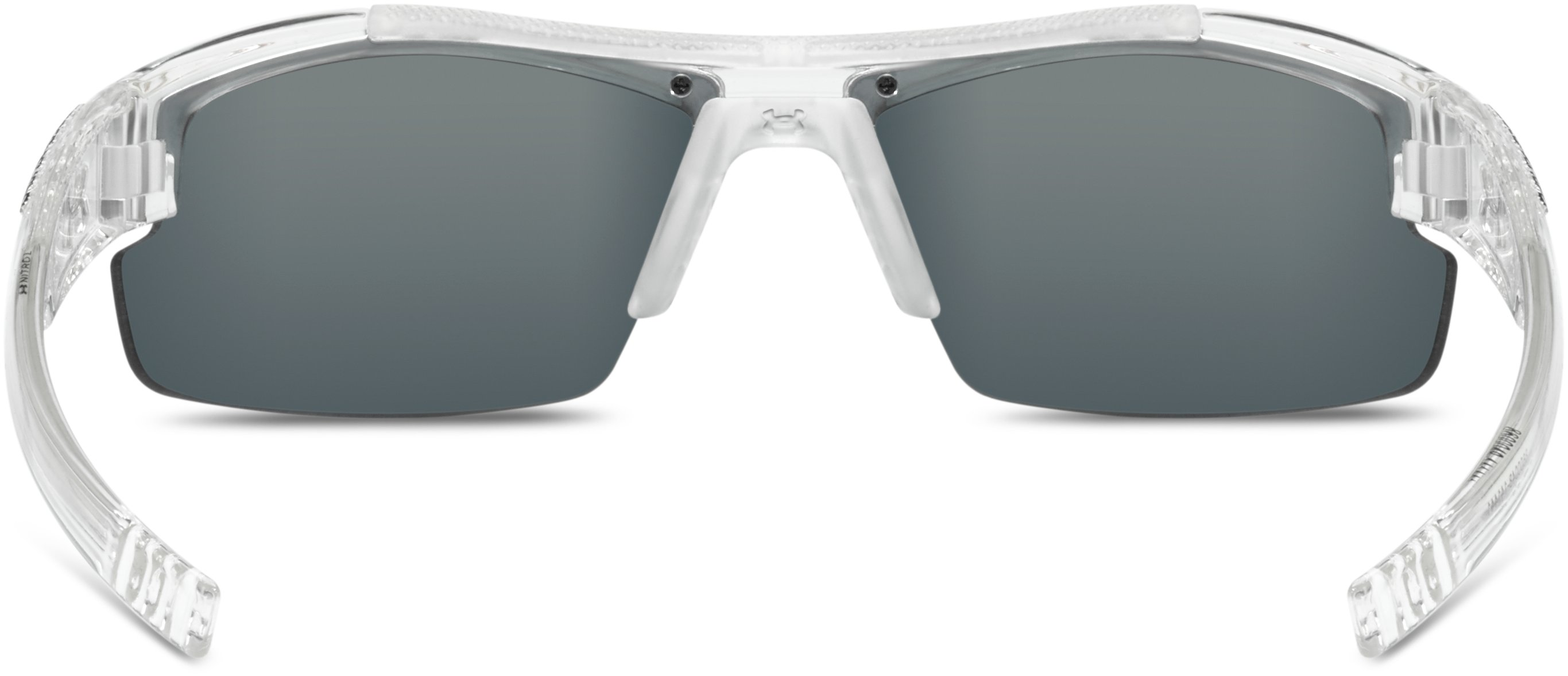 Kids' UA Nitro L Sunglasses, SHINY CRYSTAL CLEAR, undefined