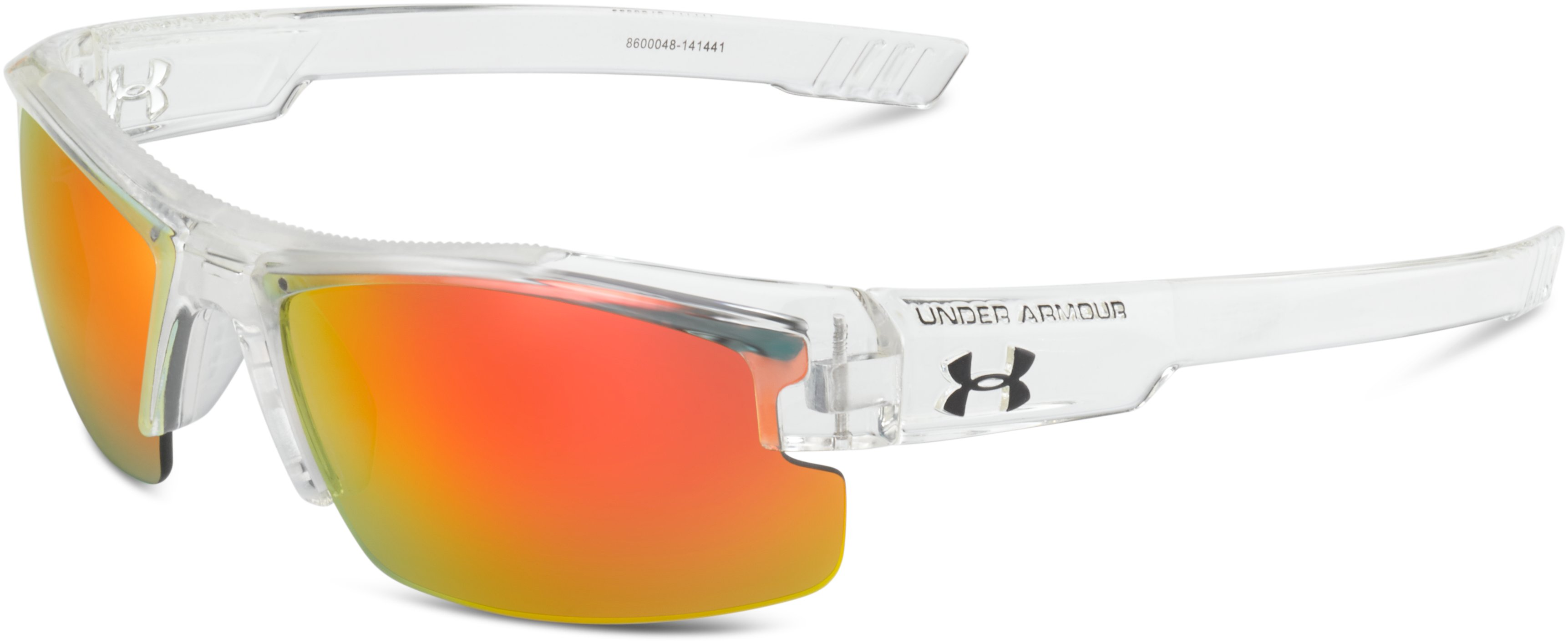 Kids' UA Nitro L Sunglasses, SHINY CRYSTAL CLEAR,