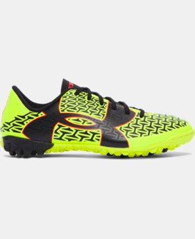 New Arrival Boys' UA ClutchFit™ Force 2.0 TR Jr. Soccer Shoes   $49.99