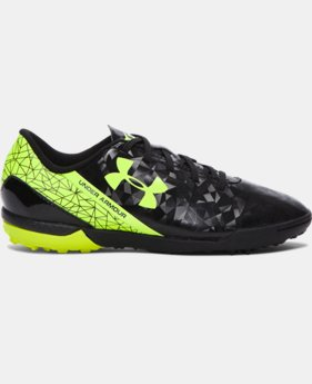 Boys' UA SF Flash TR Jr. Soccer Shoes