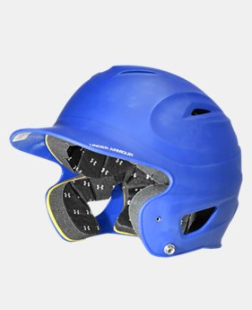 UA Matte Painted Batting Helmet  1 Color $22.49