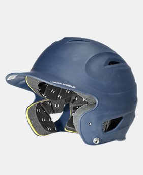 UA Matte Painted Batting Helmet LIMITED TIME: FREE U.S. SHIPPING 1 Color $29.99