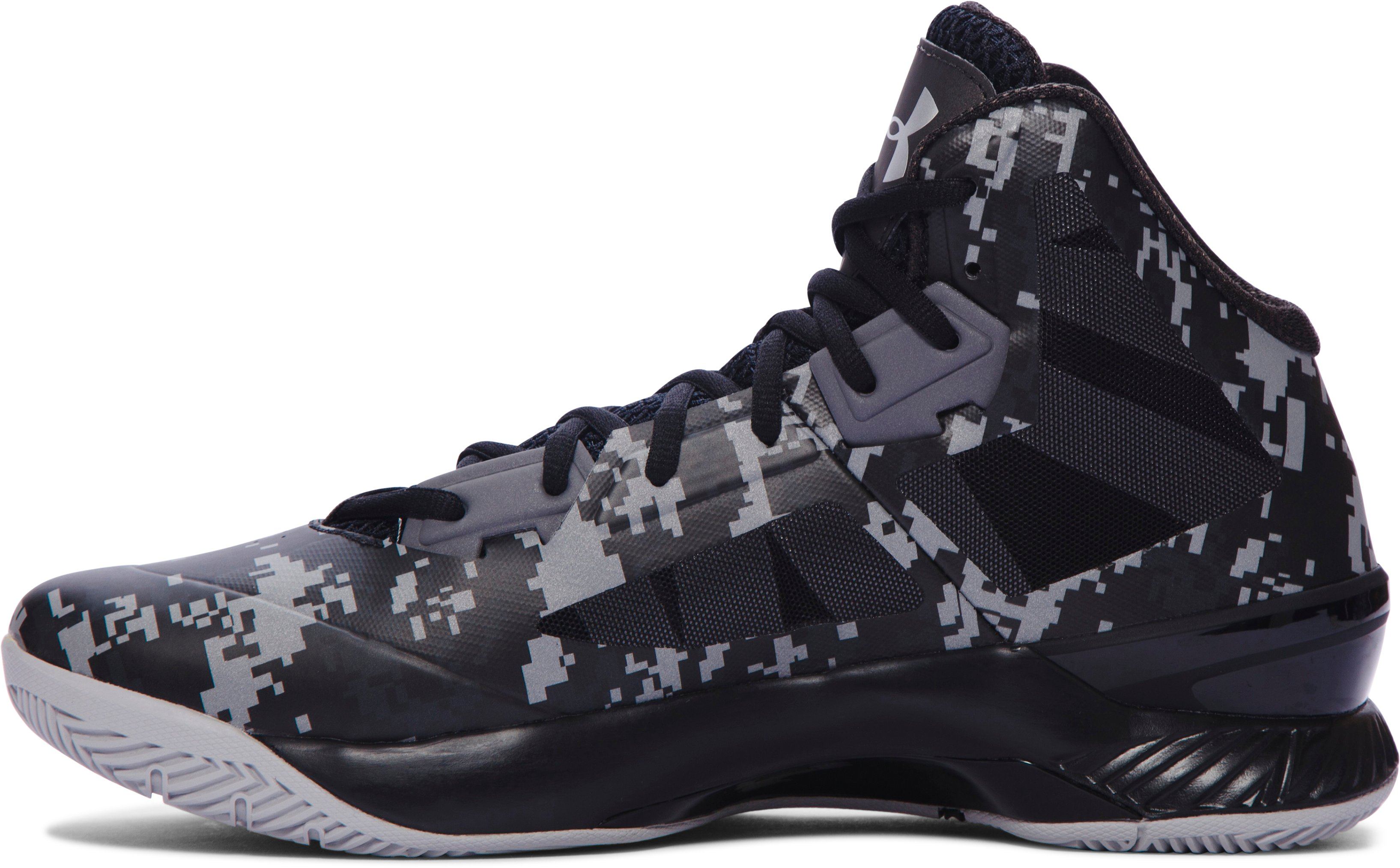 Men's UA Lightning 3 Basketball Shoes, Black ,