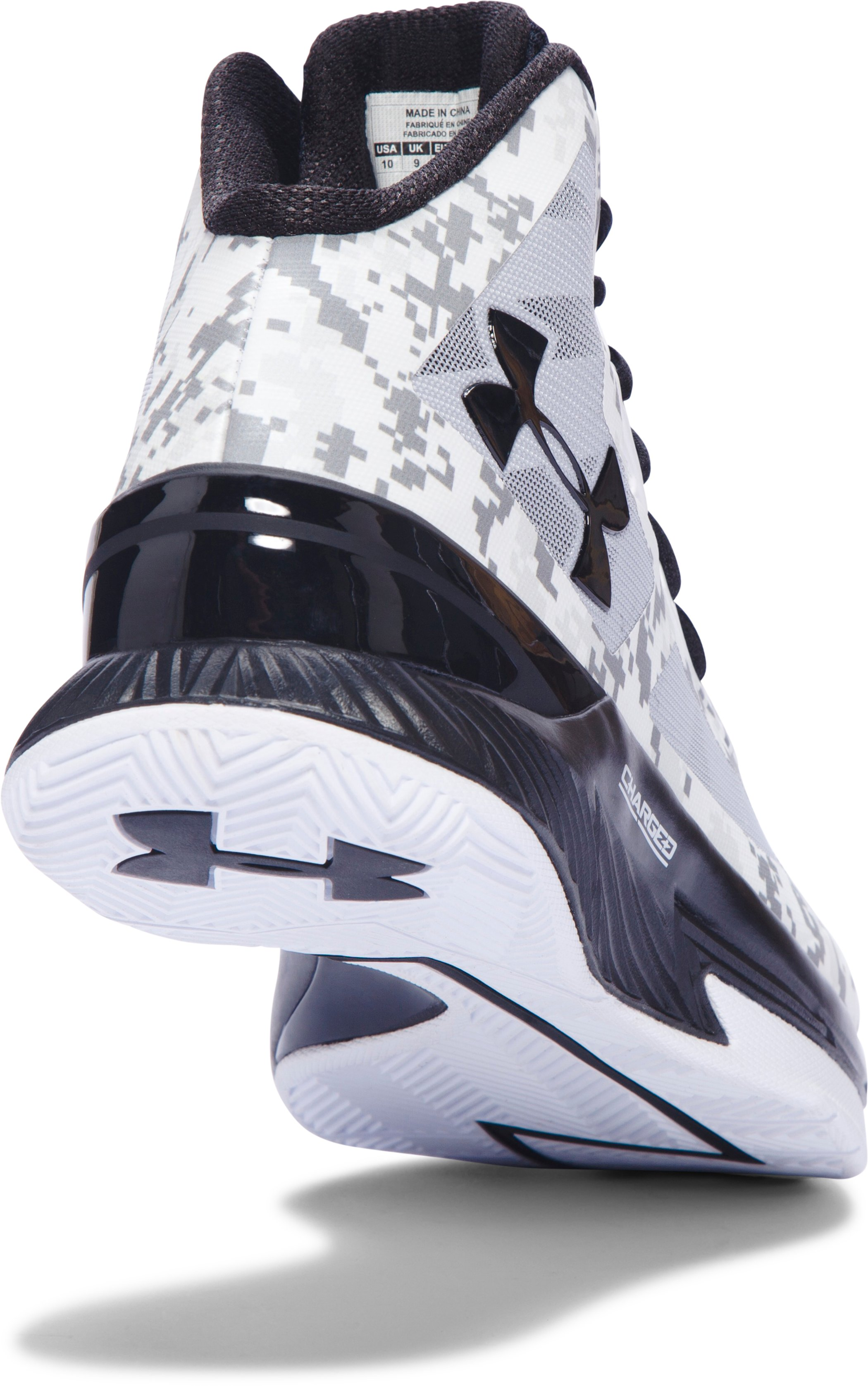 Men's UA Lightning 3 Basketball Shoes, White