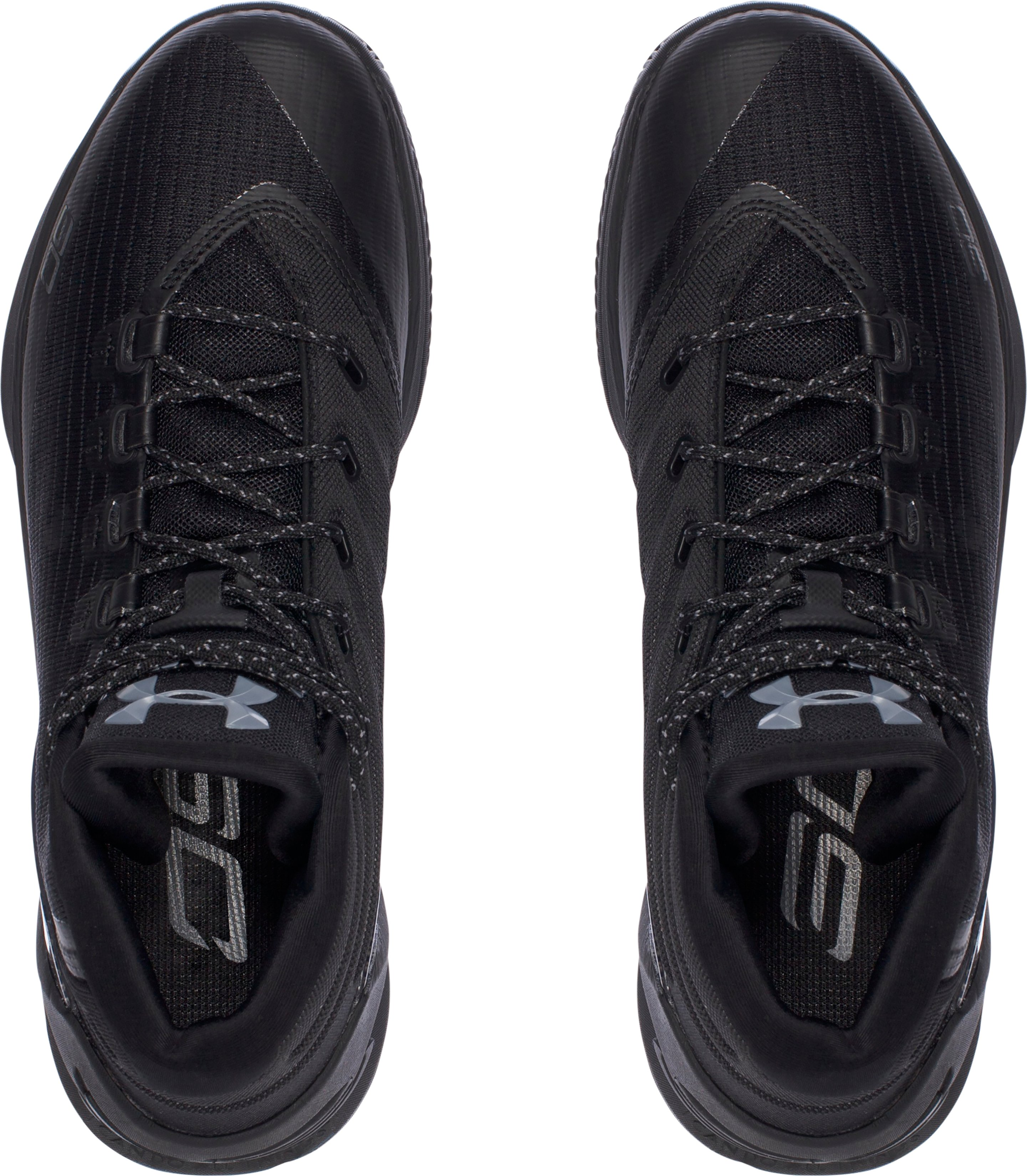 Men's UA Curry 3 Basketball Shoes, Trifecta Black, undefined