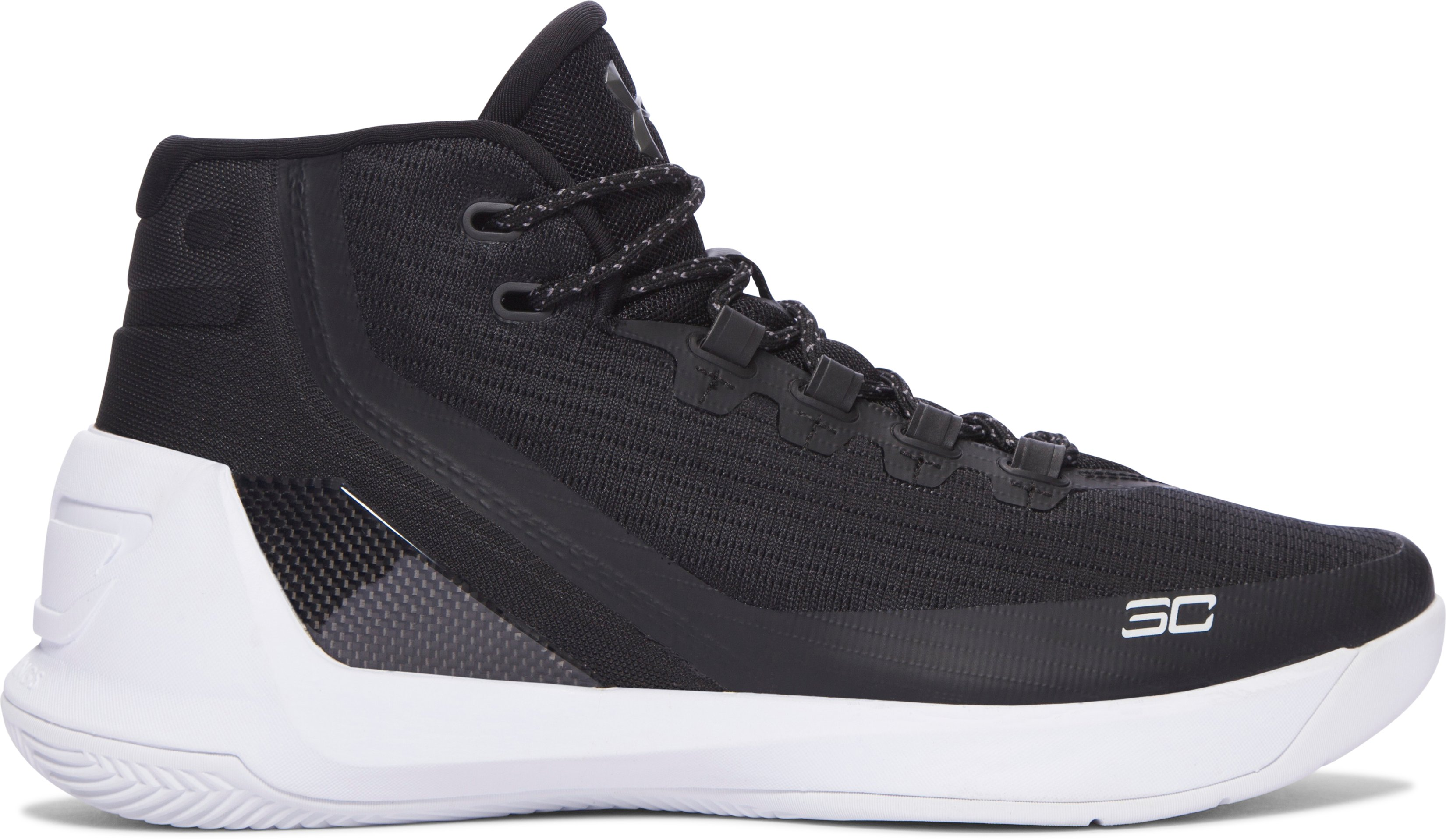 Men's UA Curry 3 Basketball Shoes, Black , undefined
