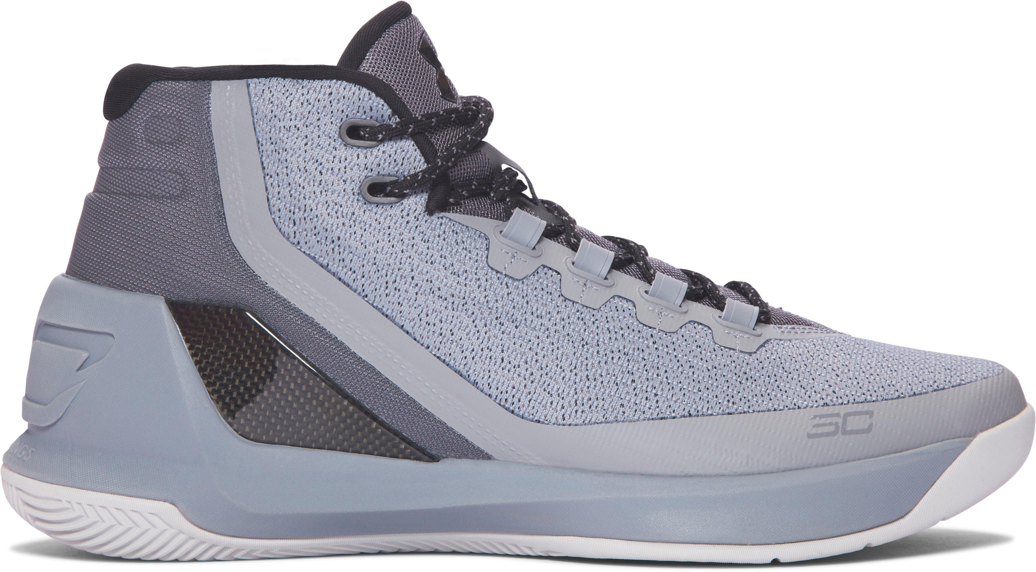 Men's UA Curry Three Basketball Shoes, 360 degree view