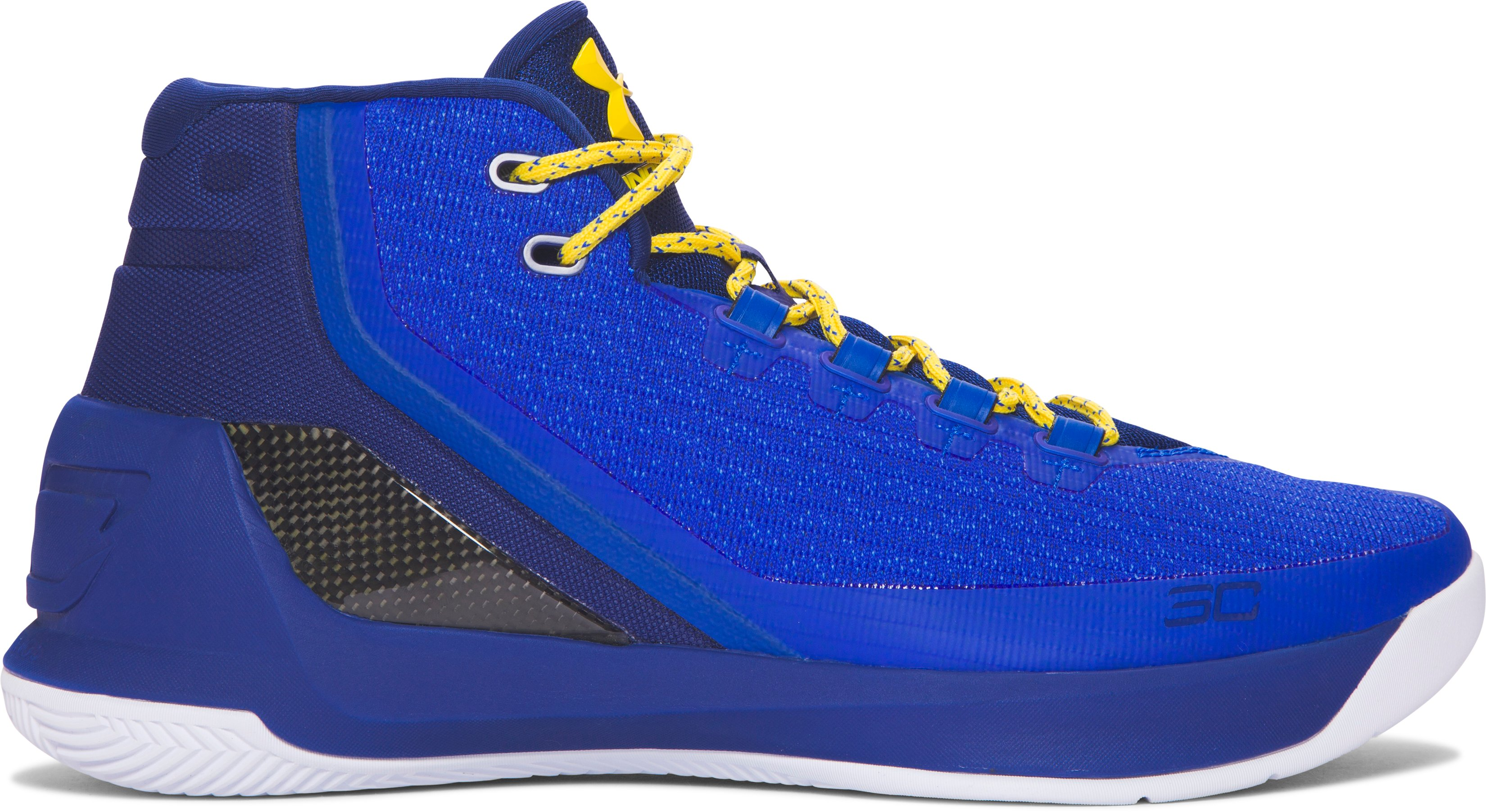 Men's UA Curry 3 Basketball Shoes, Dub Nation Heritage