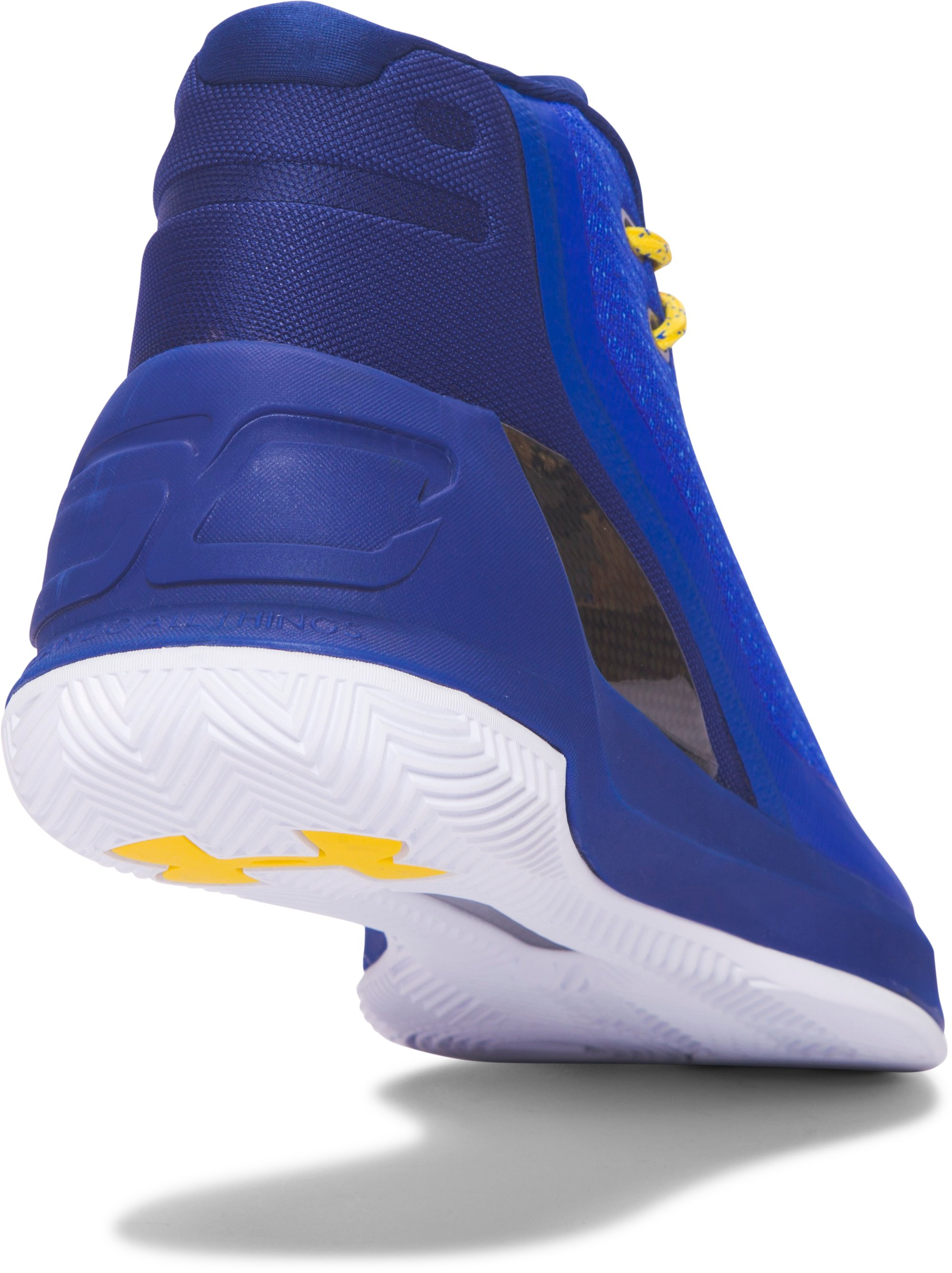 Men's UA Curry 3 Basketball Shoes, Dub Nation Heritage,