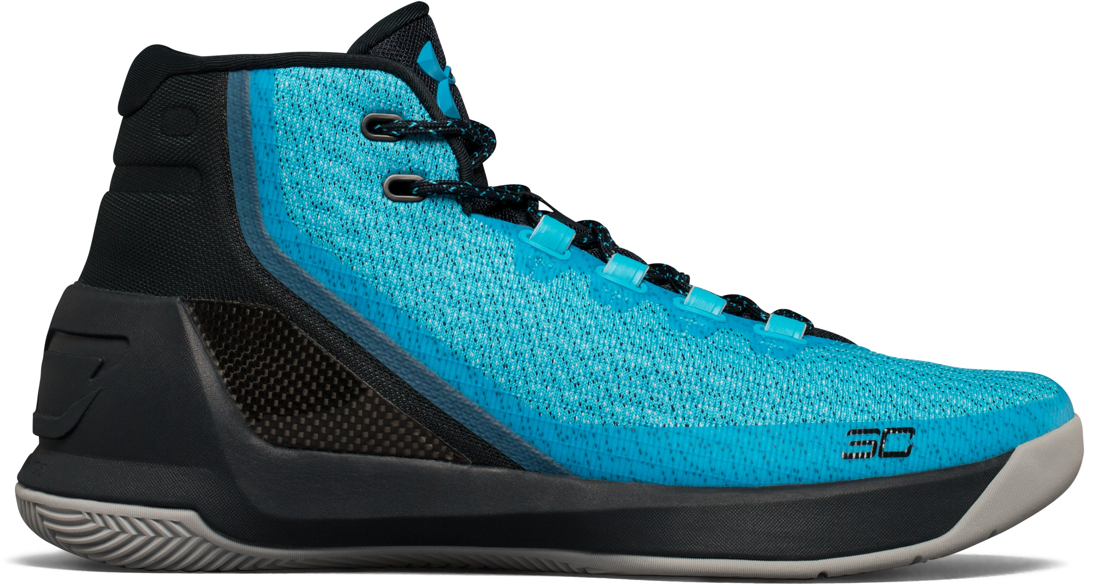 Zapatos de Basquetbol UA Curry Three para Hombre, 360 degree view