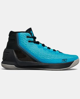 Men's UA Curry 3 Basketball Shoes  6 Colors $99.99