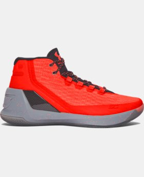 Men's UA Curry 3 Basketball Shoes  1 Color $101.99 to $118.99