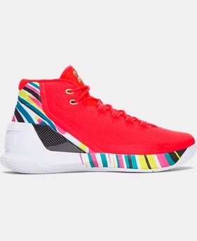 Men's UA Curry 3 Basketball Shoes  11 Colors $139.99