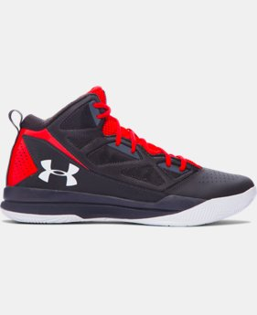 Men's UA Jet Mid Basketball Shoes LIMITED TIME: FREE U.S. SHIPPING 1 Color $56.99 to $64.99