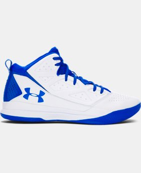 Men's UA Jet Mid Basketball Shoes LIMITED TIME: FREE U.S. SHIPPING 2 Colors $56.99 to $64.99