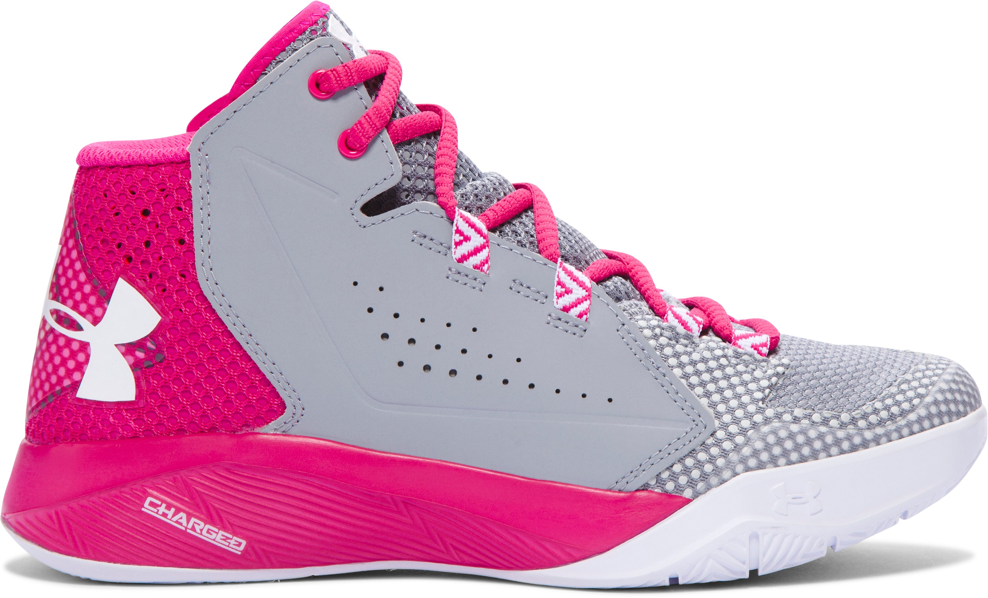 Women's UA Torch Fade Basketball Shoes, Steel