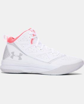 Women's UA Jet Mid Basketball Shoes  3 Colors $74.99