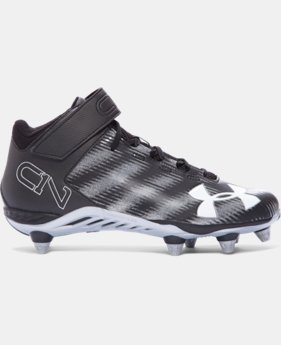 Men's UA C1N Mid D Football Cleats LIMITED TIME: FREE U.S. SHIPPING  $63.99