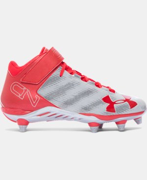 Men's UA C1N Mid D Football Cleats LIMITED TIME: FREE U.S. SHIPPING 1 Color $63.99