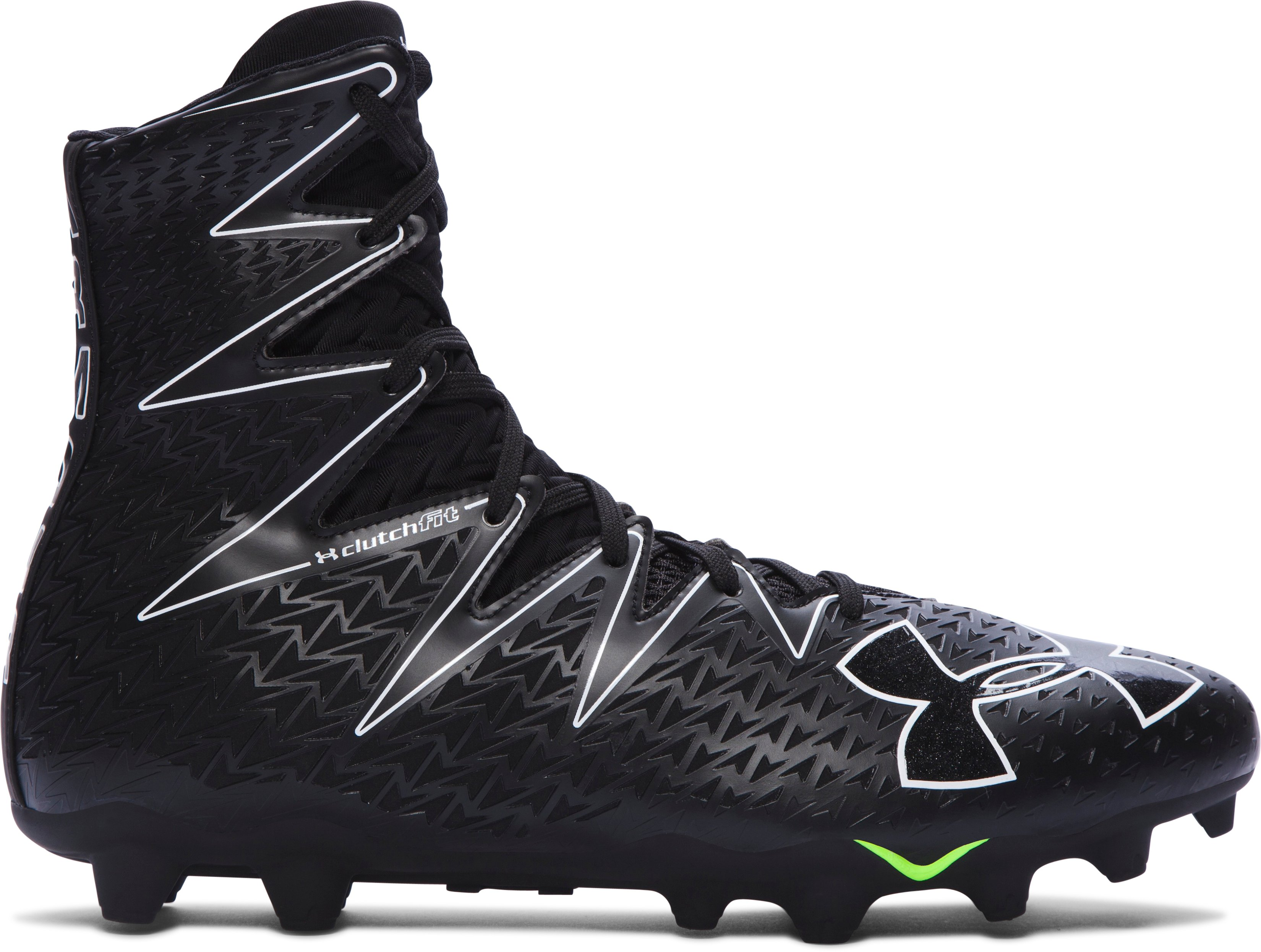Men's UA Highlight MC Football Cleats, Black , undefined