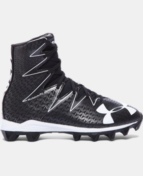 New Arrival Boys' UA Highlight RM Jr. Football Cleats   $44.99