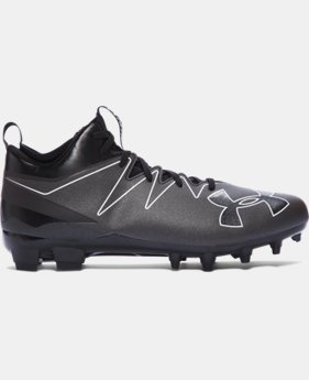 Men's UA Nitro Mid MC Football Cleats  3 Colors $84.99