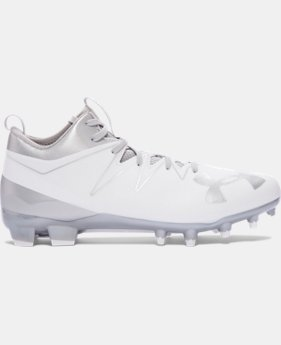 Men's UA Nitro Mid MC Football Cleats  4 Colors $84.99