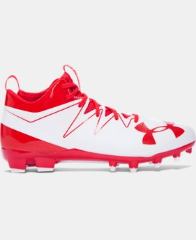 Men's UA Nitro Mid MC Football Cleats  1 Color $84.99