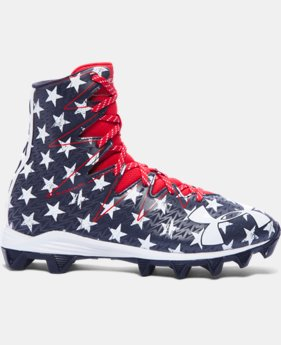 New Arrival Boys' UA Highlight RM Jr. Football Cleats — Limited Edition  2 Colors $44.99 to $59.99