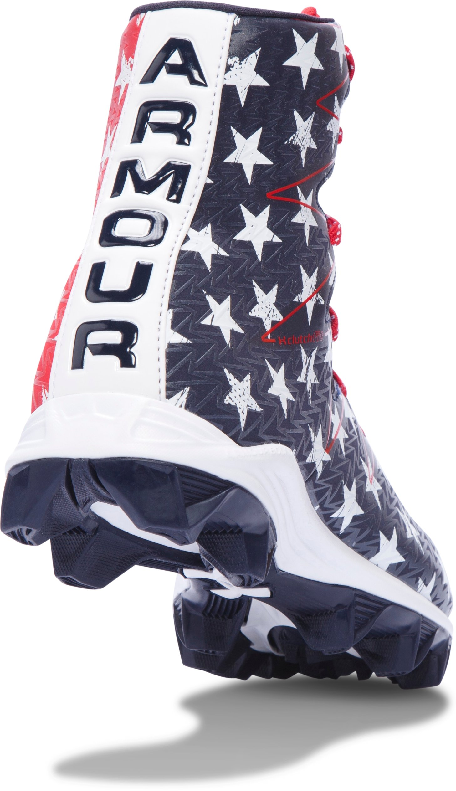 Boys' UA Highlight RM Jr. Football Cleats — Limited Edition, Midnight Navy, undefined