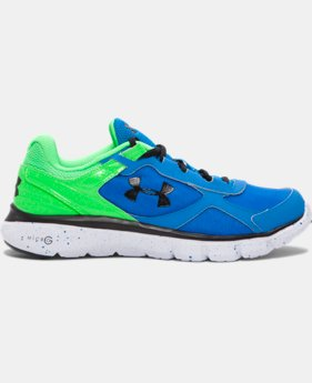 Boys' Grade School UA Velocity Running Shoes LIMITED TIME: FREE SHIPPING 1 Color $59.99