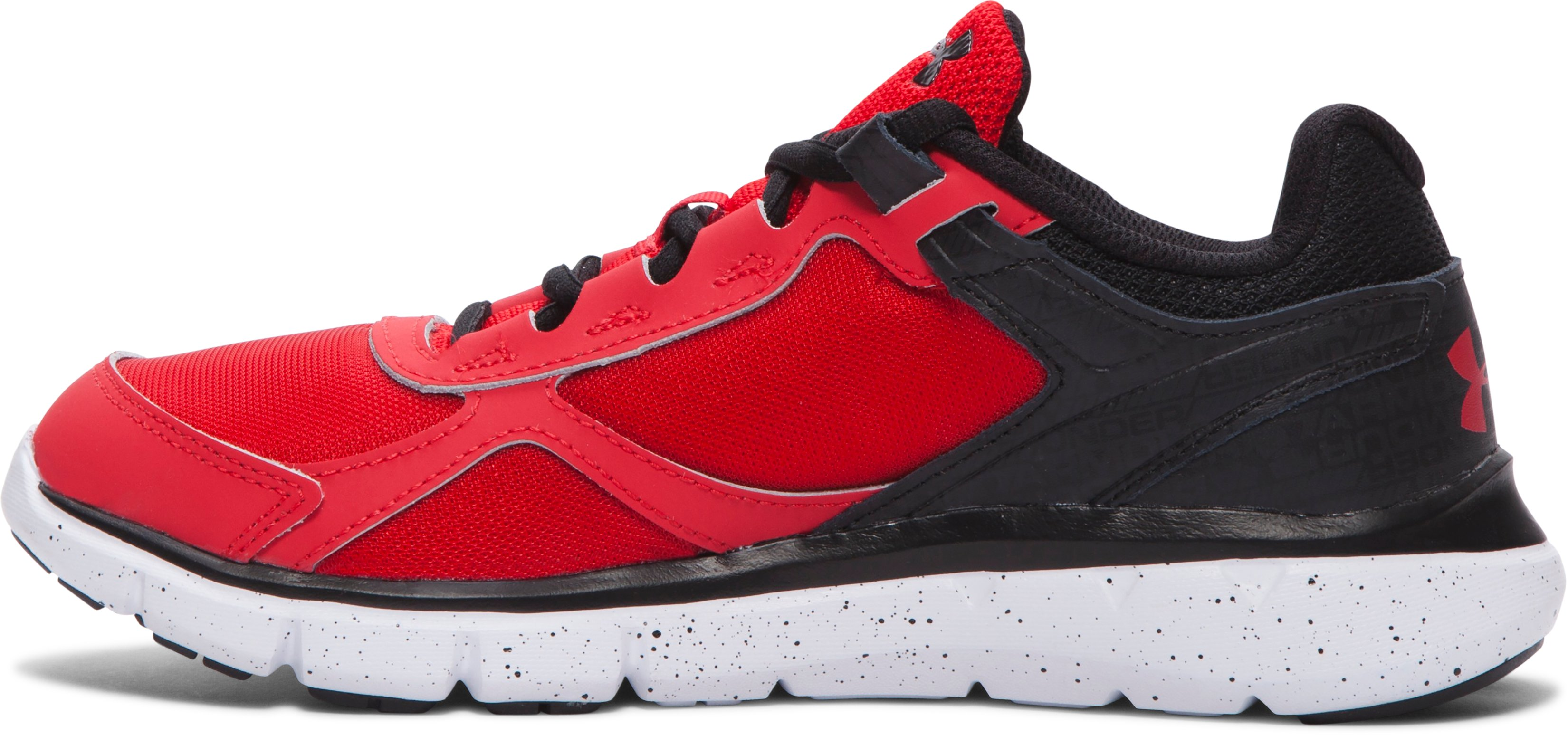 Boys' Grade School UA Velocity Running Shoes, Red