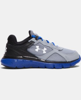Boys' Pre-School UA Velocity Graphic Running Shoes   $54.99