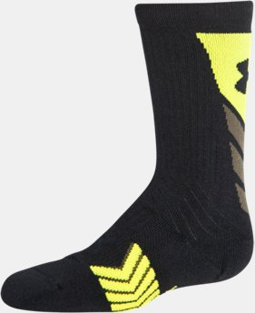 Boys' UA Undeniable Crew Socks — Limited Edition  1 Color $11.99