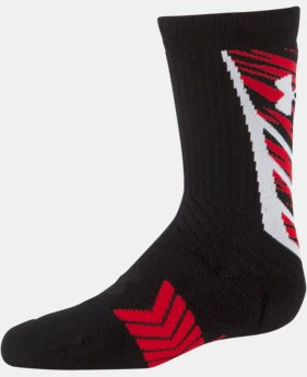Boys' UA Undeniable Crew Socks