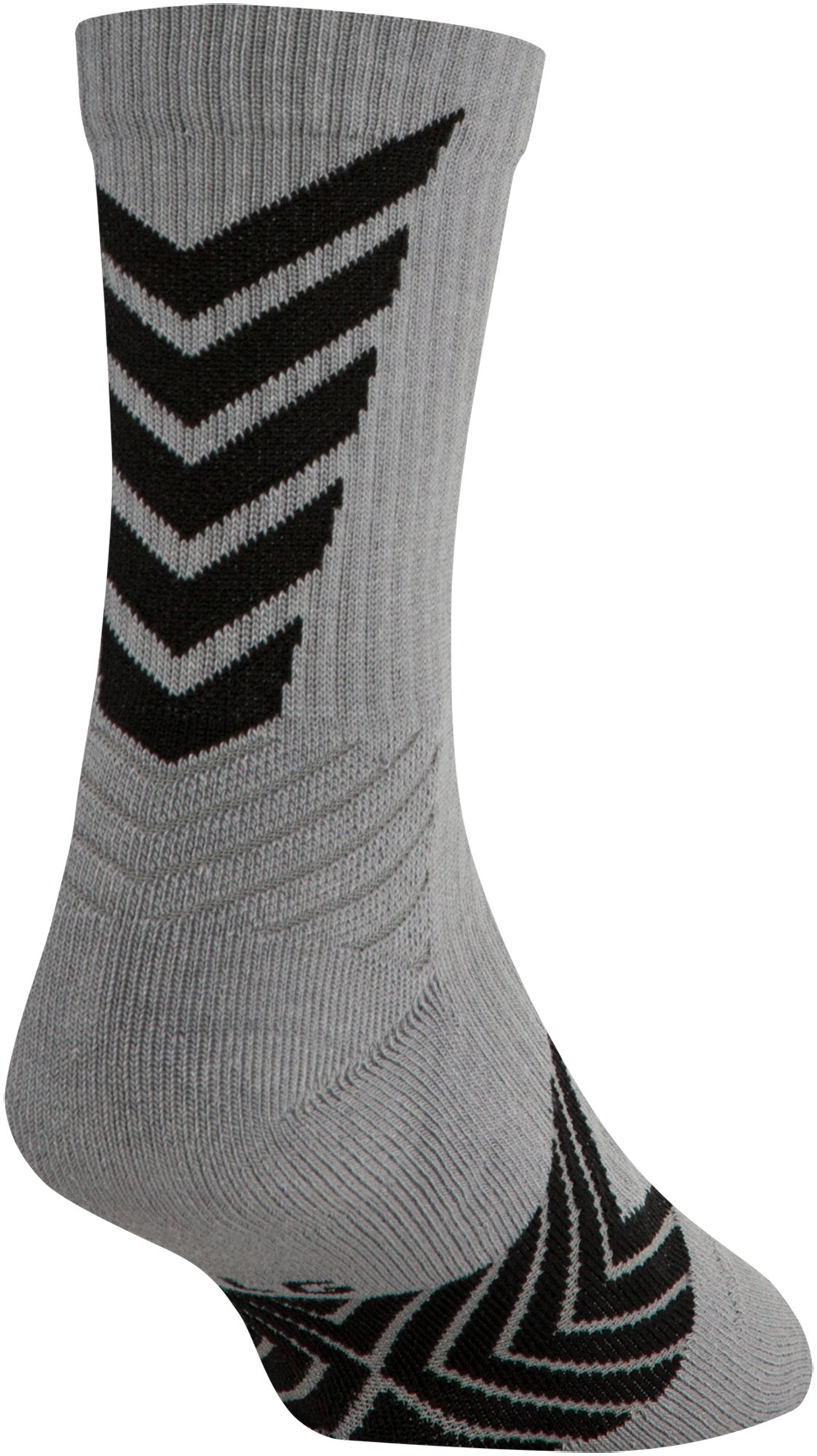 Boys' UA Undeniable Mid Crew Socks, Steel, undefined