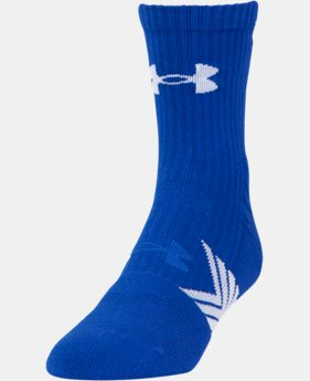 Best Seller Boys' UA Undeniable Mid Crew Socks   $11.99