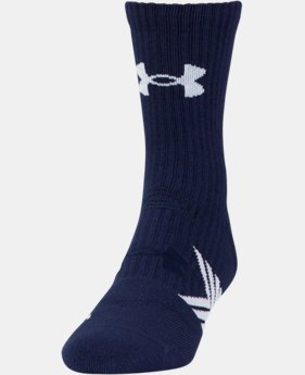 Best Seller Boys' UA Undeniable Mid Crew Socks  1 Color $11.99