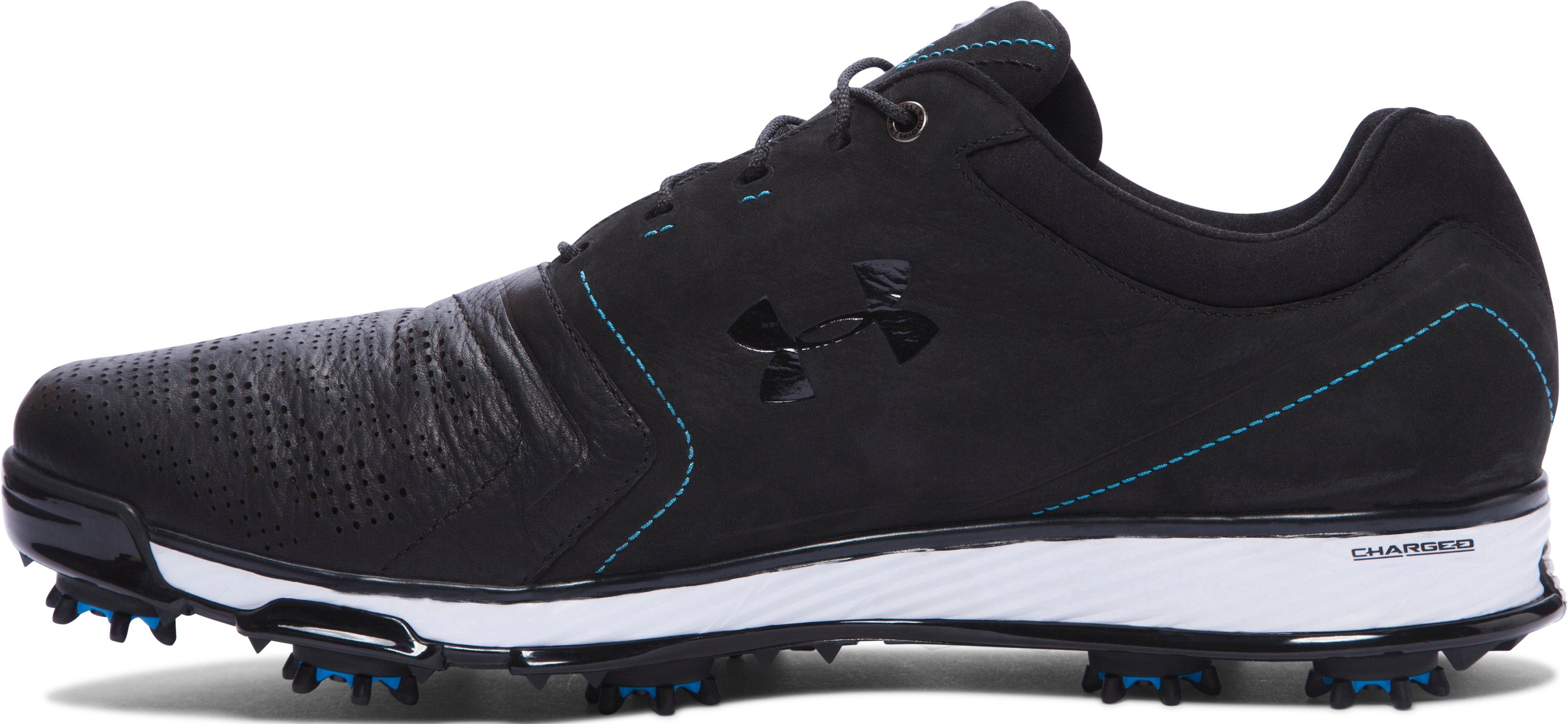 Men's UA Tempo Tour Golf Shoes, Black , undefined