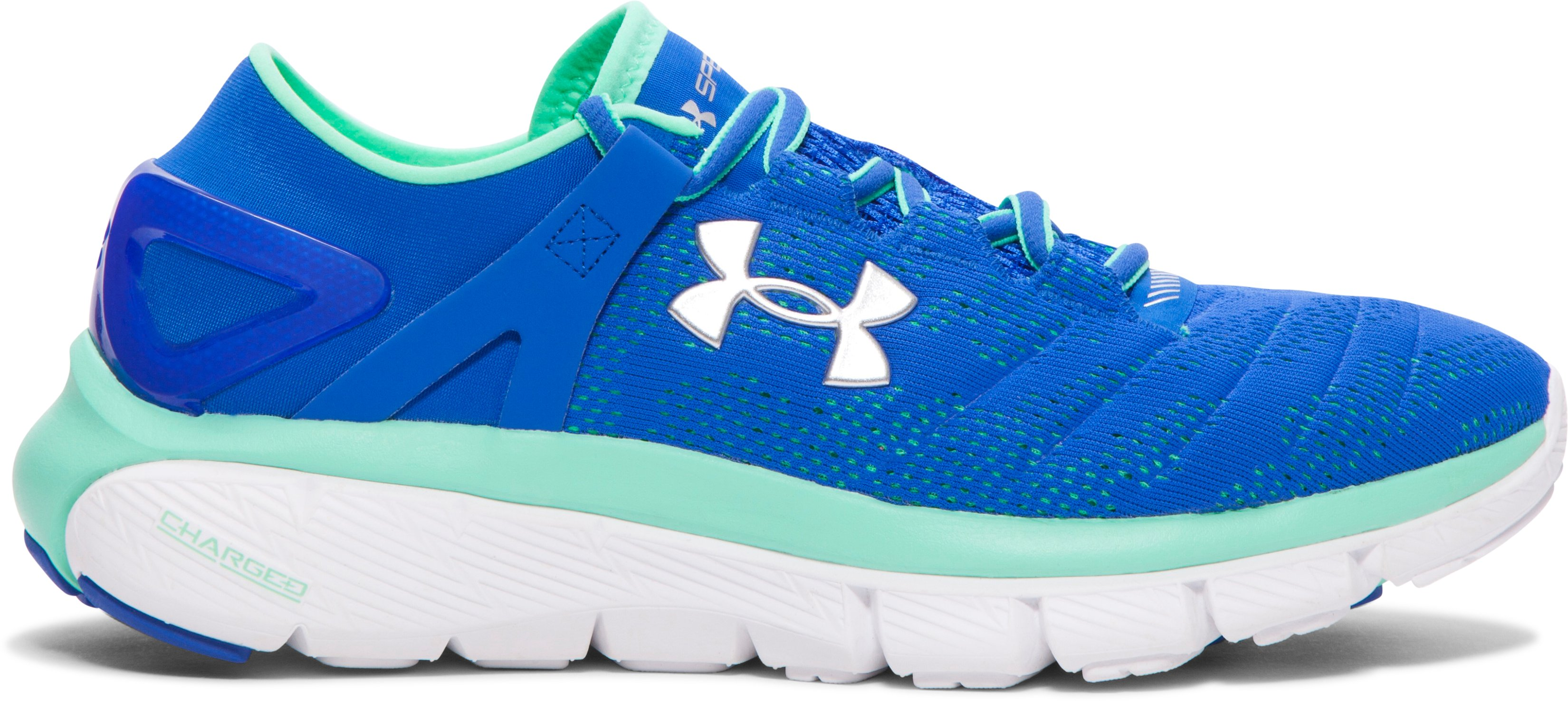 Women's UA SpeedForm® Fortis Vent Running Shoes, ULTRA BLUE, zoomed image