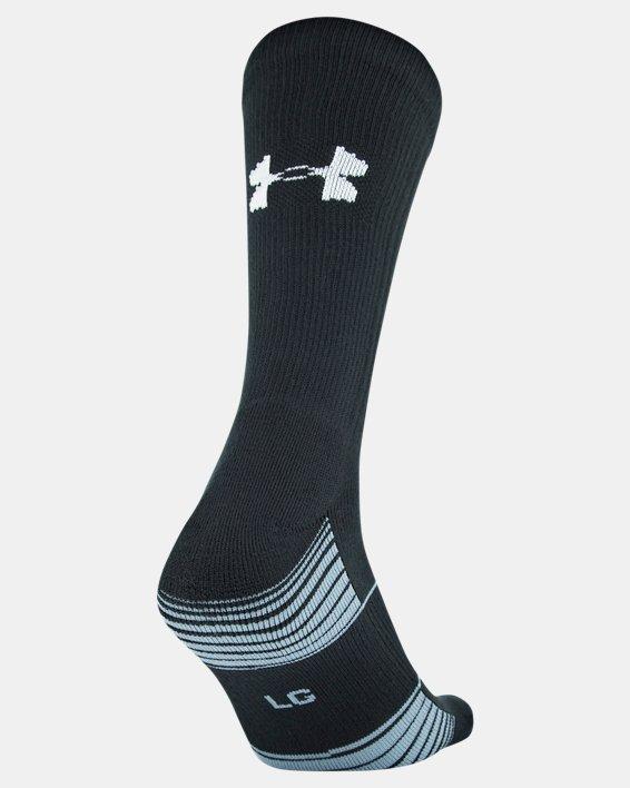 UA Team Crew Socks, Black, pdpMainDesktop image number 2