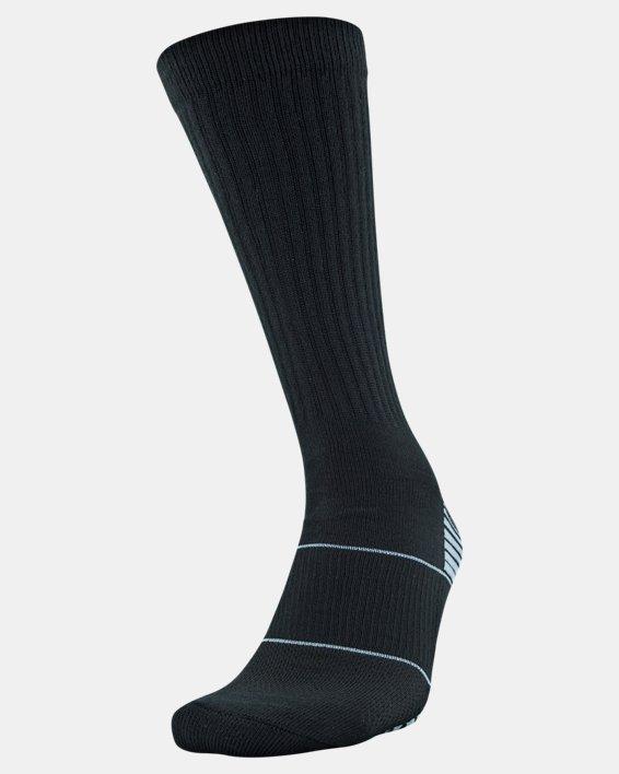 UA Team Crew Socks, Black, pdpMainDesktop image number 0