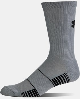 New Arrival Men's UA Team Crew Socks  4 Colors $9.99
