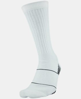 Men's UA Team Crew Socks  5  Colors Available $13