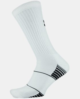 Best Seller UA Team Crew Socks  2  Colors Available $9.99 to $10