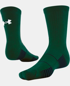 Best Seller UA Team Crew Socks  2 Colors $10