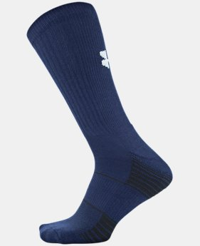 Best Seller UA Team Crew Socks  1  Color Available $9.99 to $10