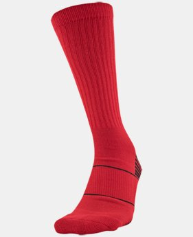 Men's UA Team Crew Socks  2 Colors $10
