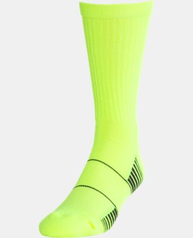 Men's UA Team Crew Socks  8 Colors $9.99